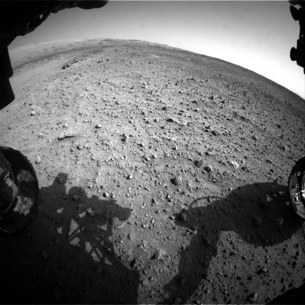 Nasa's Mars rover Curiosity acquired this image using its Front Hazard Avoidance Camera (Front Hazcam) on Sol 685, at drive 0, site number 39