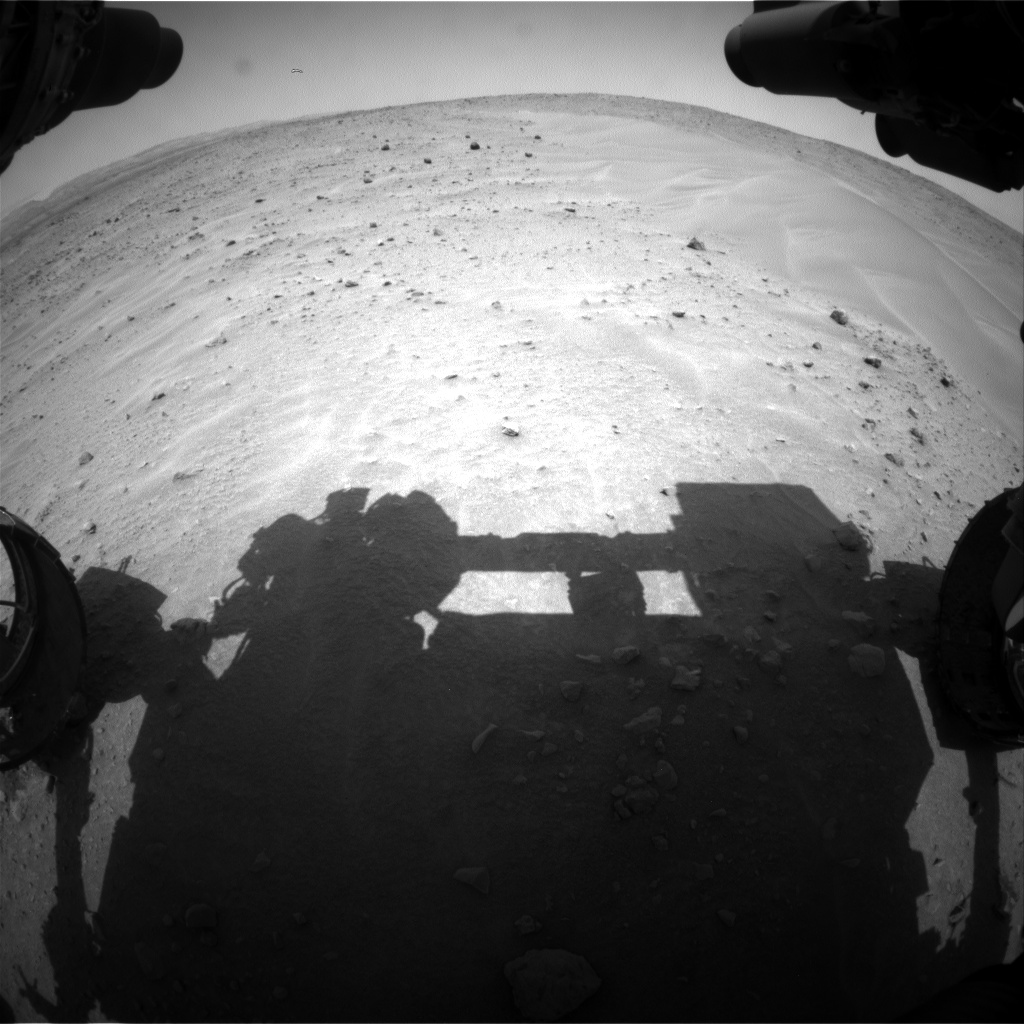 Nasa's Mars rover Curiosity acquired this image using its Front Hazard Avoidance Camera (Front Hazcam) on Sol 685, at drive 1266, site number 38