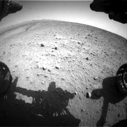 Nasa's Mars rover Curiosity acquired this image using its Front Hazard Avoidance Camera (Front Hazcam) on Sol 685, at drive 1608, site number 38