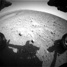Nasa's Mars rover Curiosity acquired this image using its Front Hazard Avoidance Camera (Front Hazcam) on Sol 685, at drive 1620, site number 38