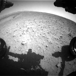Nasa's Mars rover Curiosity acquired this image using its Front Hazard Avoidance Camera (Front Hazcam) on Sol 685, at drive 1638, site number 38