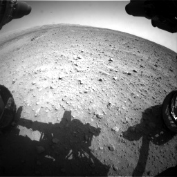 Nasa's Mars rover Curiosity acquired this image using its Front Hazard Avoidance Camera (Front Hazcam) on Sol 685, at drive 1656, site number 38
