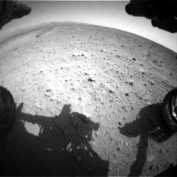 Nasa's Mars rover Curiosity acquired this image using its Front Hazard Avoidance Camera (Front Hazcam) on Sol 685, at drive 1674, site number 38
