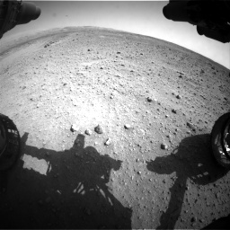 Nasa's Mars rover Curiosity acquired this image using its Front Hazard Avoidance Camera (Front Hazcam) on Sol 685, at drive 1692, site number 38