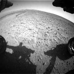 Nasa's Mars rover Curiosity acquired this image using its Front Hazard Avoidance Camera (Front Hazcam) on Sol 685, at drive 1752, site number 38