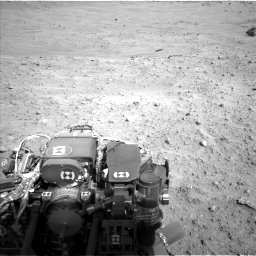 Nasa's Mars rover Curiosity acquired this image using its Left Navigation Camera on Sol 685, at drive 1752, site number 38
