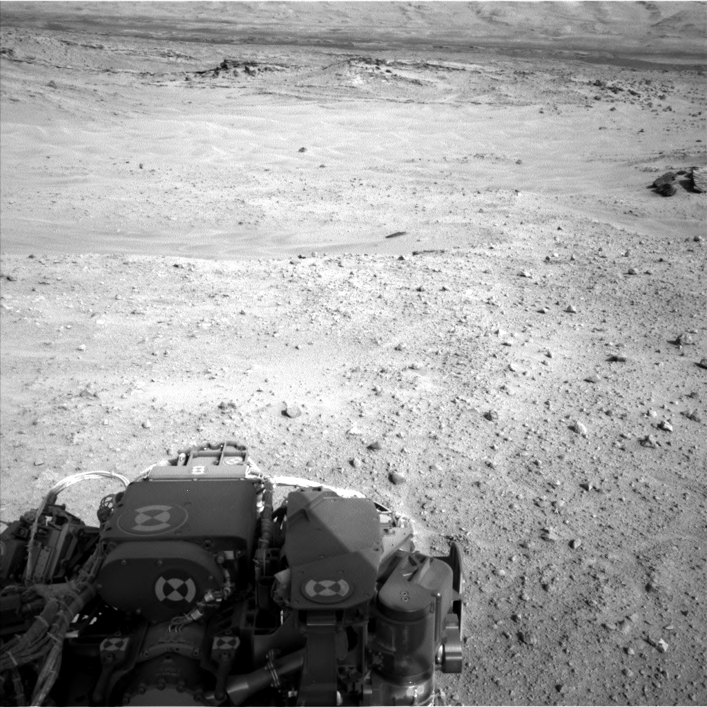 Nasa's Mars rover Curiosity acquired this image using its Left Navigation Camera on Sol 685, at drive 0, site number 39