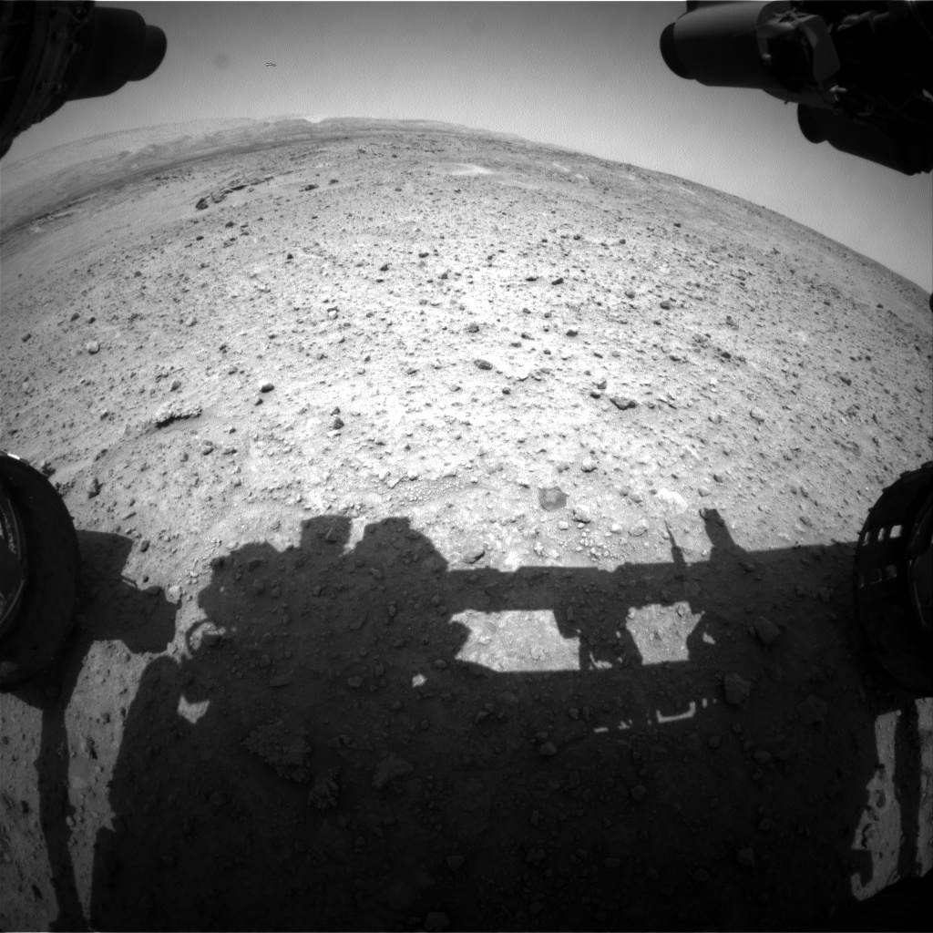 Nasa's Mars rover Curiosity acquired this image using its Front Hazard Avoidance Camera (Front Hazcam) on Sol 686, at drive 0, site number 39