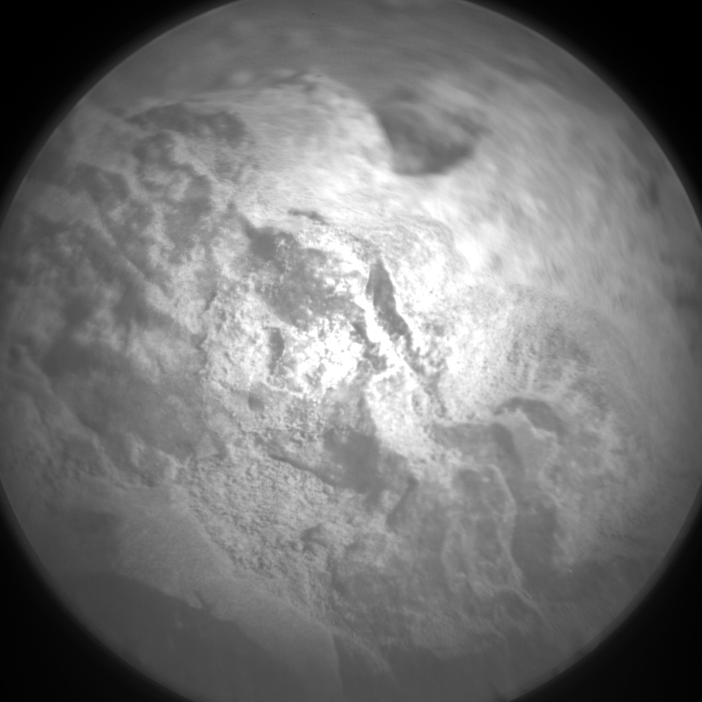 Nasa's Mars rover Curiosity acquired this image using its Chemistry & Camera (ChemCam) on Sol 687, at drive 0, site number 39