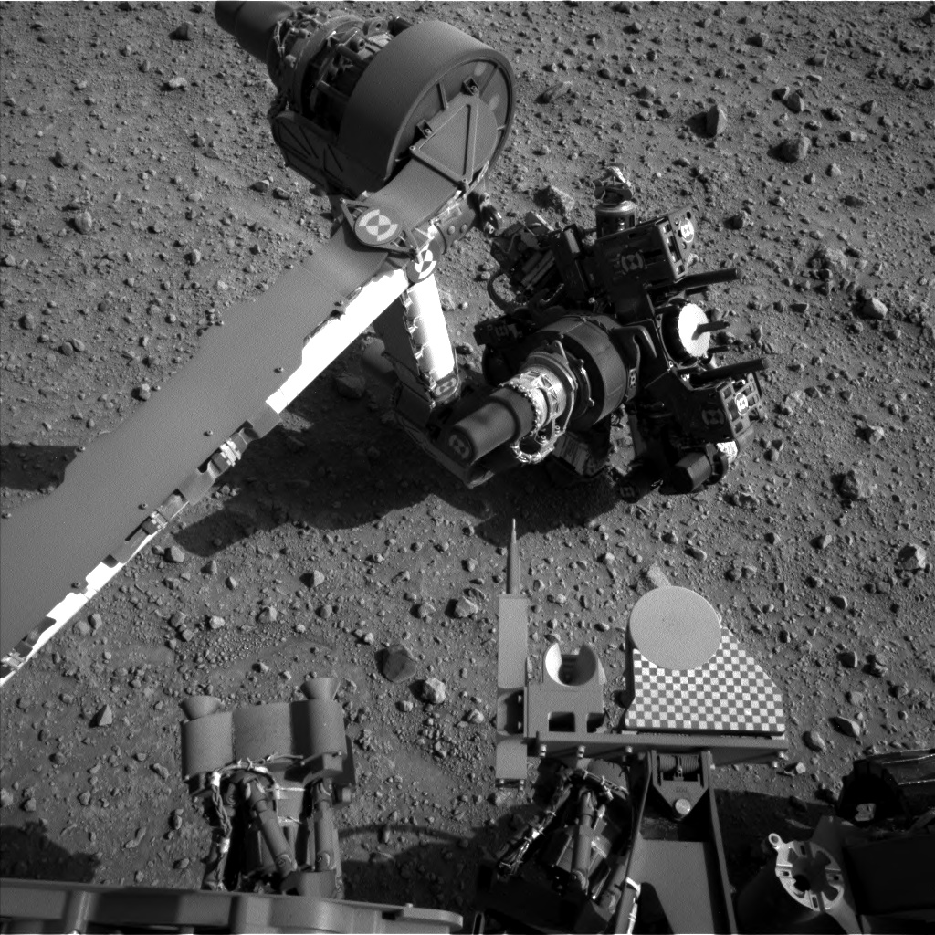 Nasa's Mars rover Curiosity acquired this image using its Left Navigation Camera on Sol 687, at drive 0, site number 39