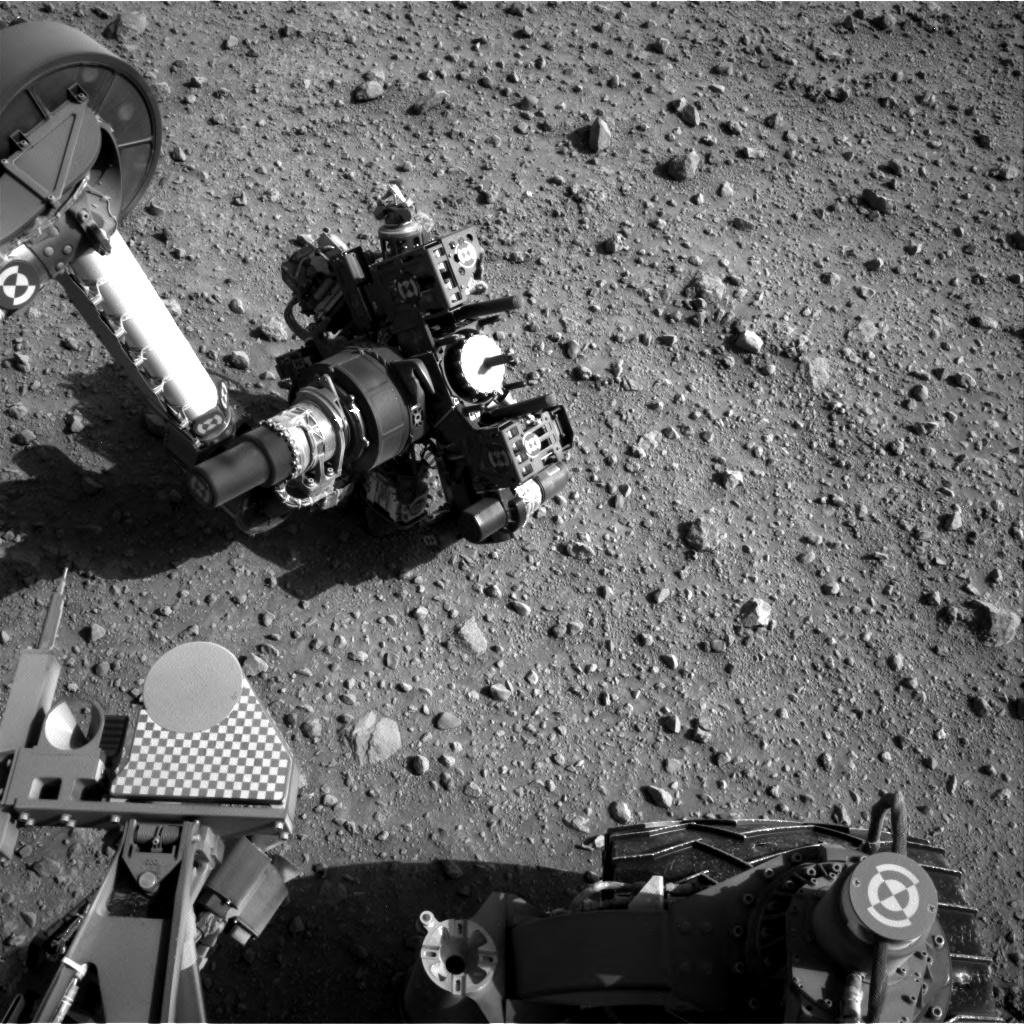 Nasa's Mars rover Curiosity acquired this image using its Right Navigation Camera on Sol 687, at drive 0, site number 39