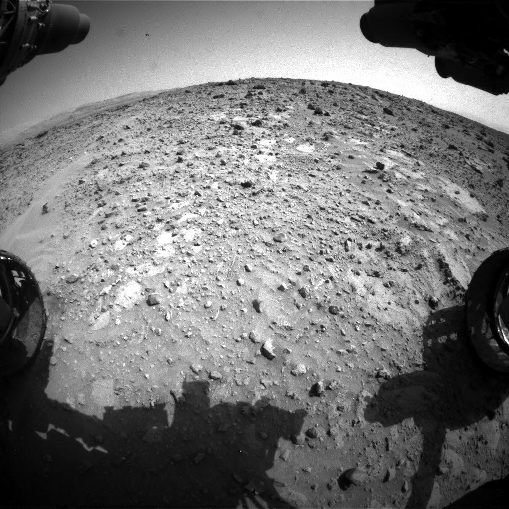 Nasa's Mars rover Curiosity acquired this image using its Front Hazard Avoidance Camera (Front Hazcam) on Sol 688, at drive 444, site number 39