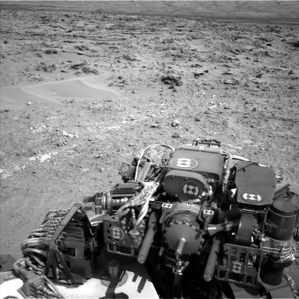 Nasa's Mars rover Curiosity acquired this image using its Left Navigation Camera on Sol 688, at drive 444, site number 39