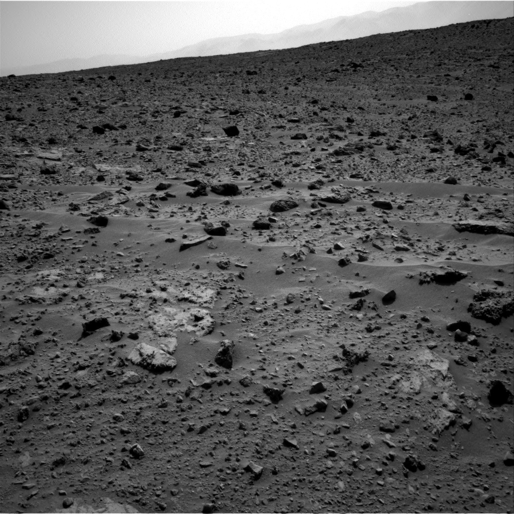 NASA's Mars rover Curiosity acquired this image using its Right Navigation Cameras (Navcams) on Sol 688