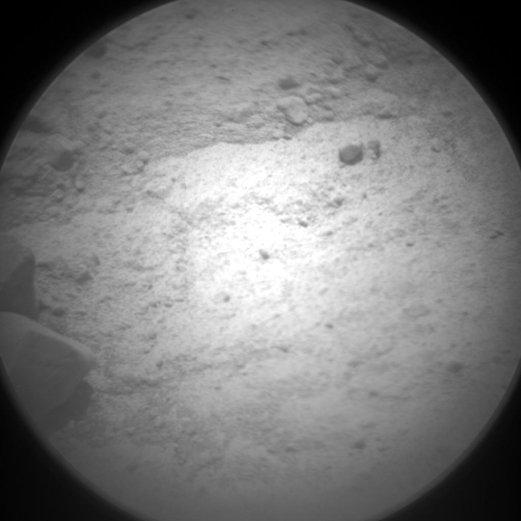 Nasa's Mars rover Curiosity acquired this image using its Chemistry & Camera (ChemCam) on Sol 689, at drive 444, site number 39