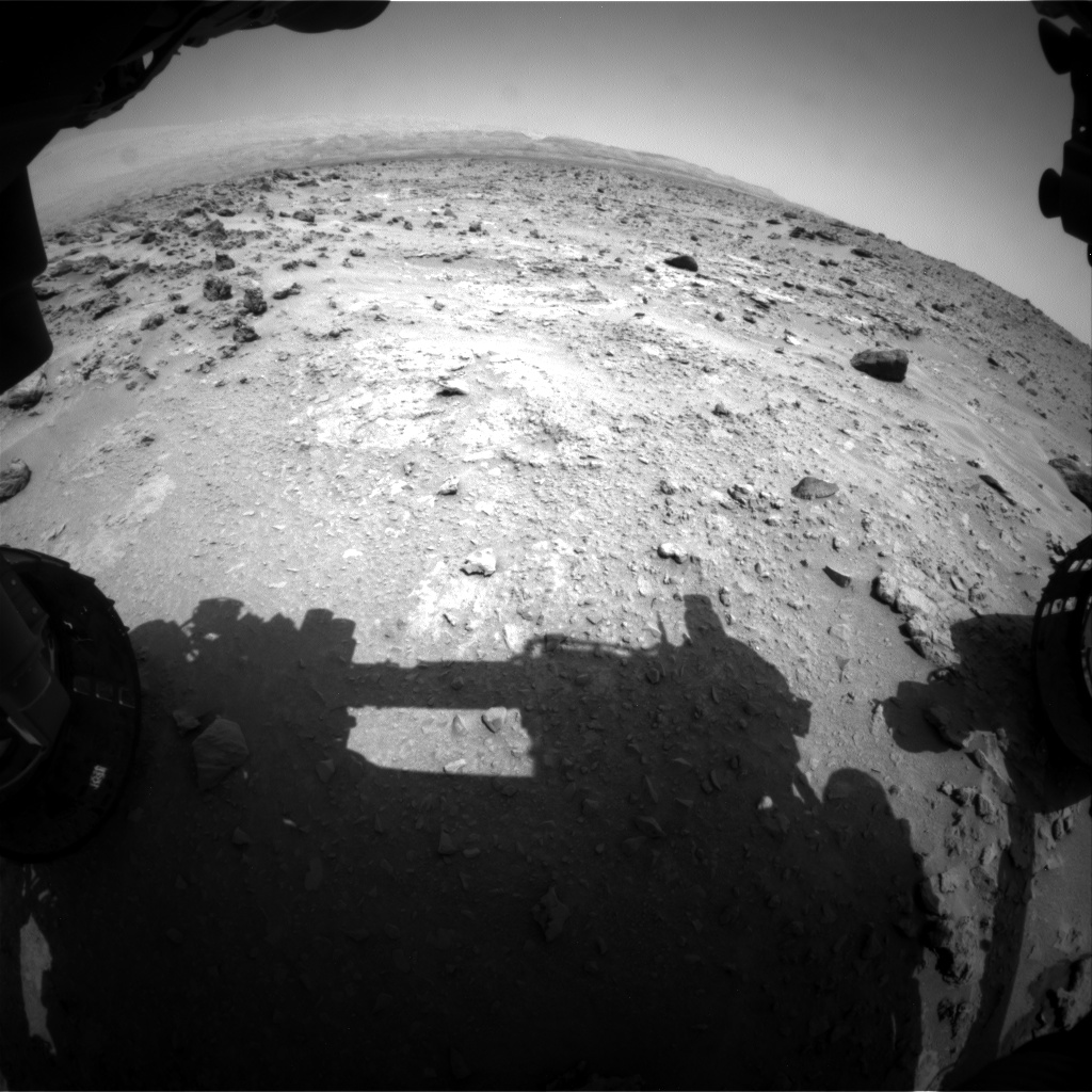 Nasa's Mars rover Curiosity acquired this image using its Front Hazard Avoidance Camera (Front Hazcam) on Sol 690, at drive 564, site number 39