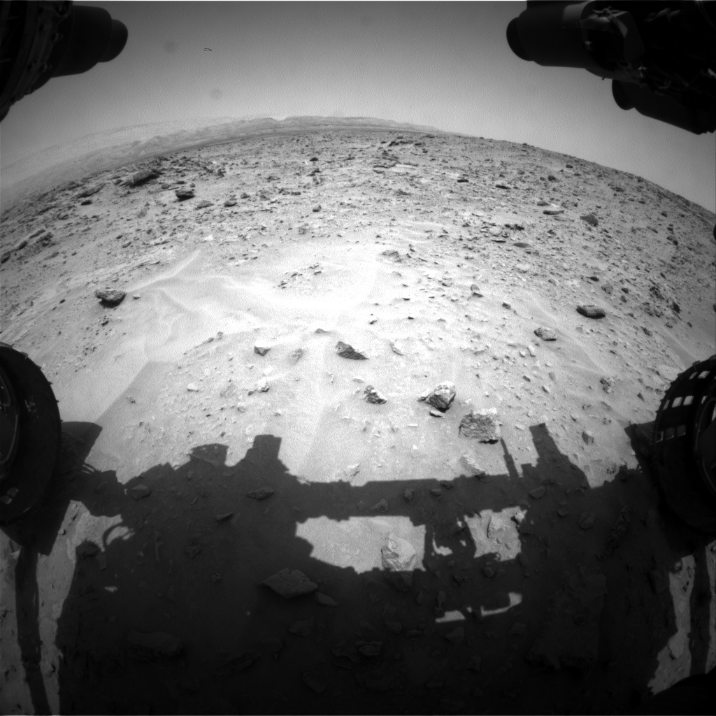 Nasa's Mars rover Curiosity acquired this image using its Front Hazard Avoidance Camera (Front Hazcam) on Sol 690, at drive 516, site number 39
