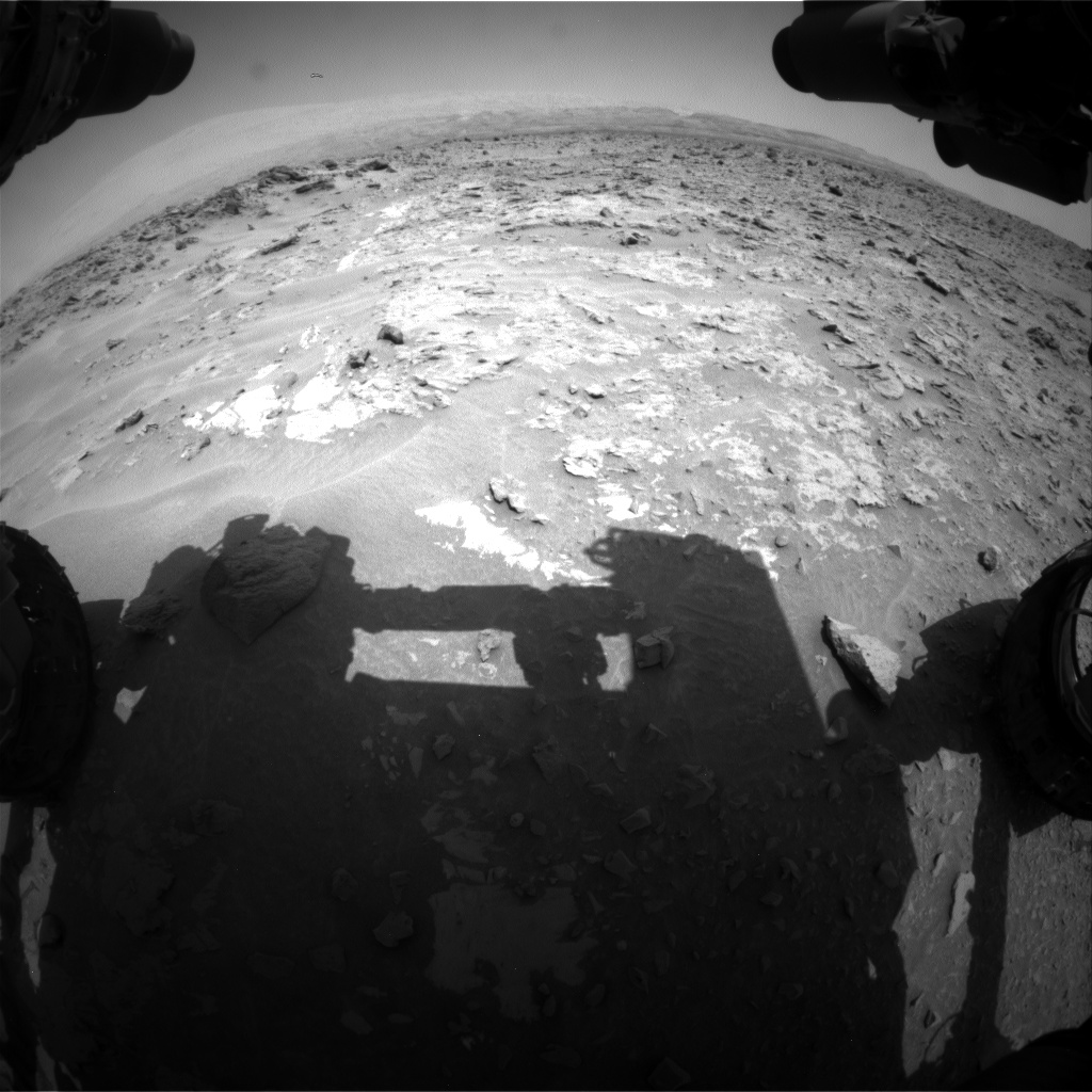 Nasa's Mars rover Curiosity acquired this image using its Front Hazard Avoidance Camera (Front Hazcam) on Sol 690, at drive 624, site number 39
