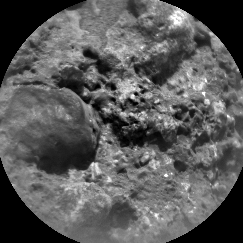 Nasa's Mars rover Curiosity acquired this image using its Chemistry & Camera (ChemCam) on Sol 690, at drive 516, site number 39