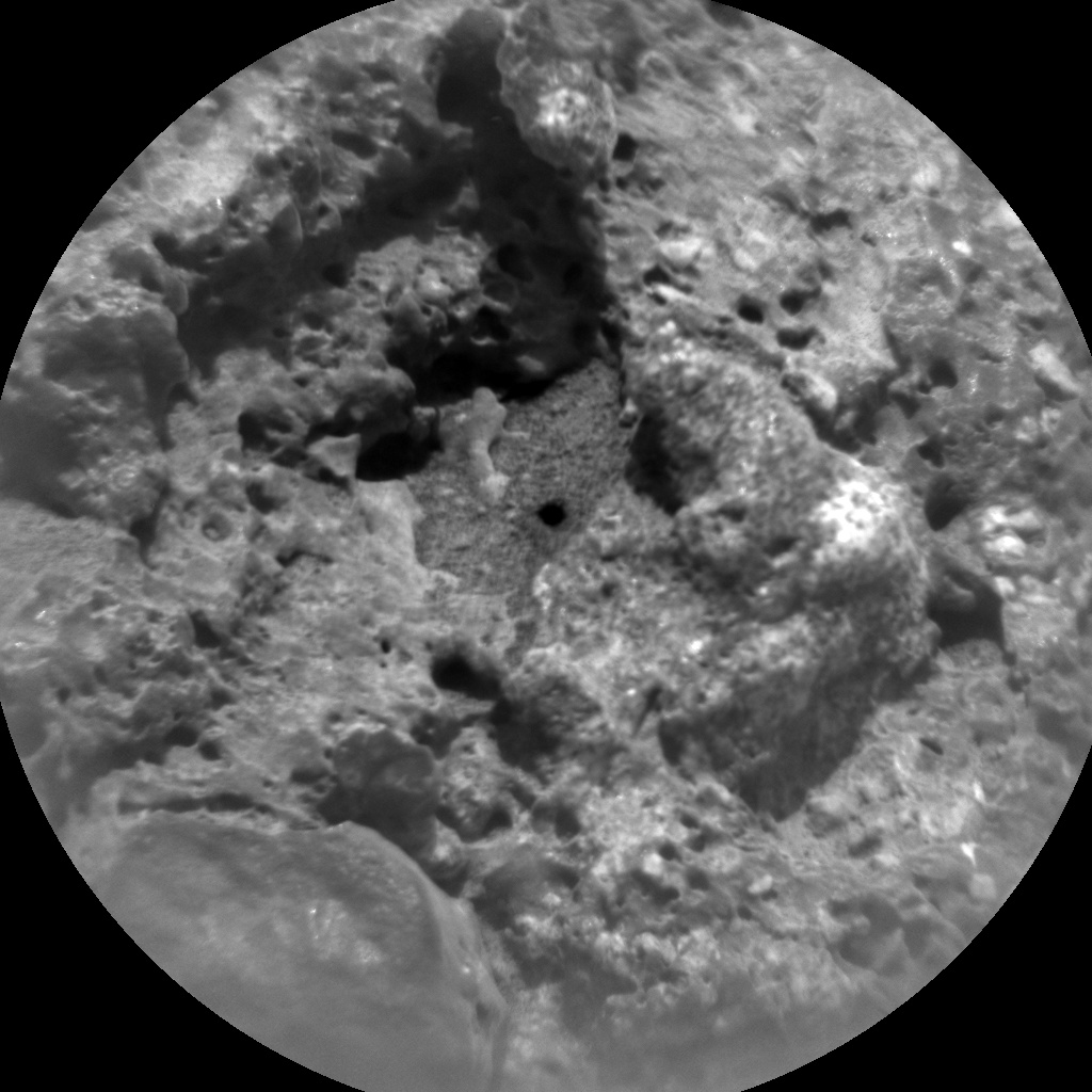 NASA's Mars rover Curiosity acquired this image using its Chemistry & Camera (ChemCam) on Sol 690