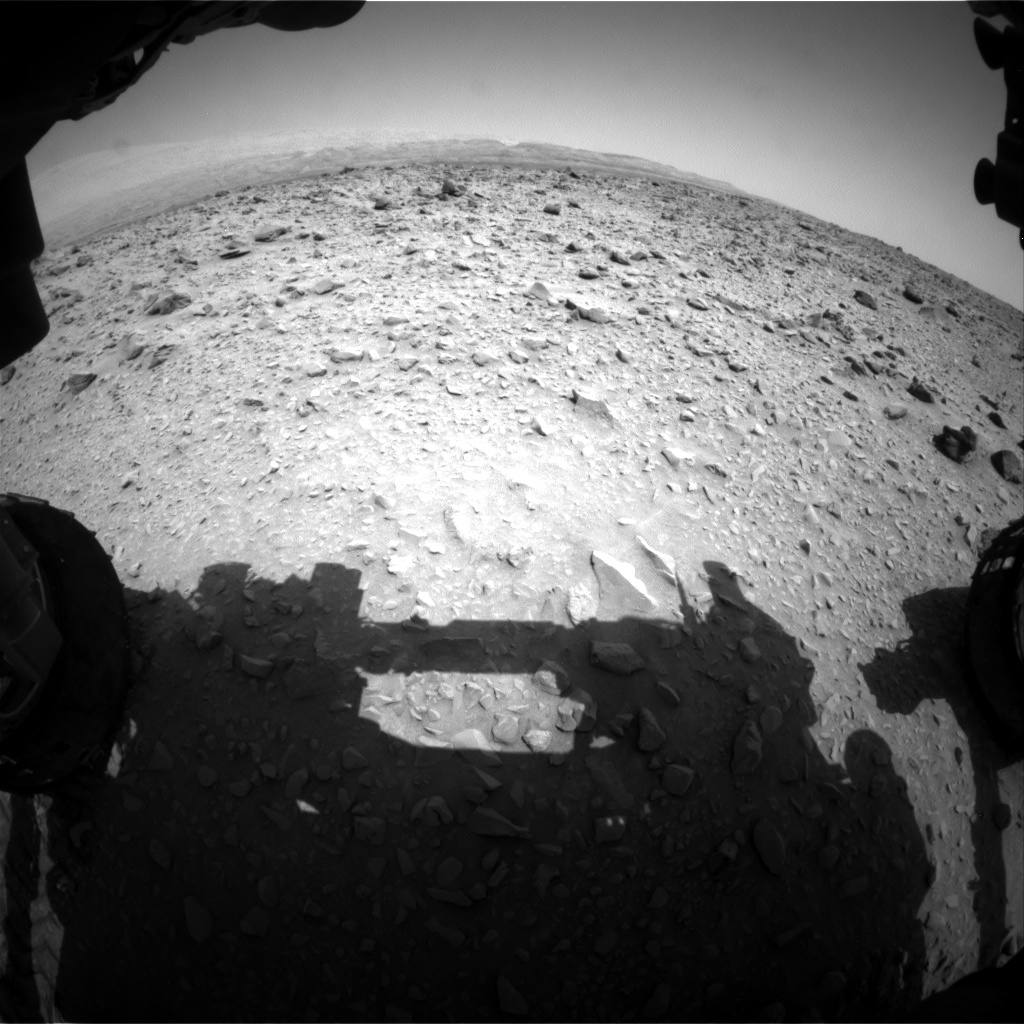 Nasa's Mars rover Curiosity acquired this image using its Front Hazard Avoidance Camera (Front Hazcam) on Sol 691, at drive 762, site number 39