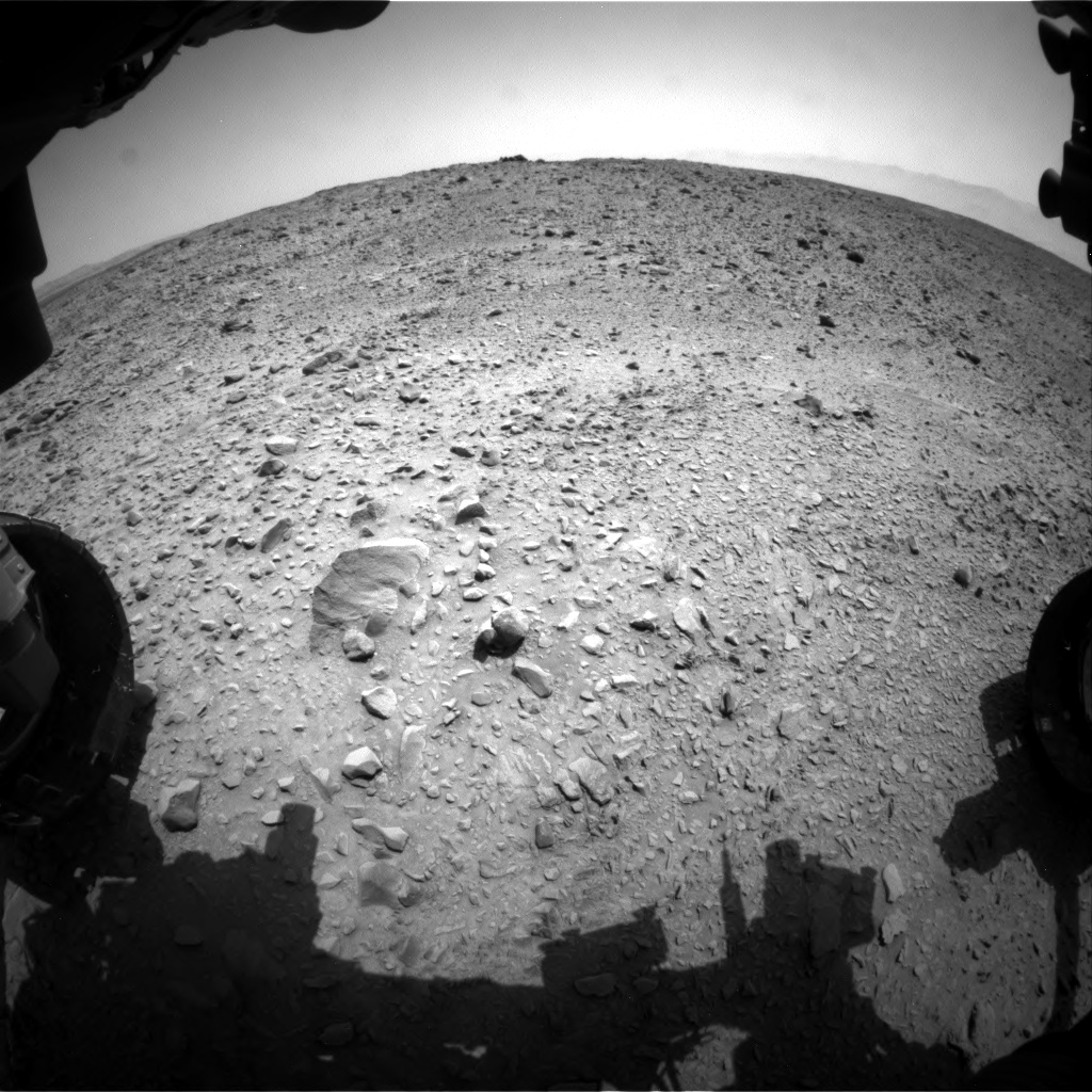 Nasa's Mars rover Curiosity acquired this image using its Front Hazard Avoidance Camera (Front Hazcam) on Sol 691, at drive 918, site number 39