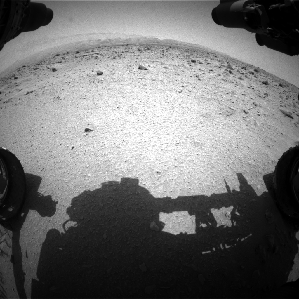 Nasa's Mars rover Curiosity acquired this image using its Front Hazard Avoidance Camera (Front Hazcam) on Sol 691, at drive 726, site number 39