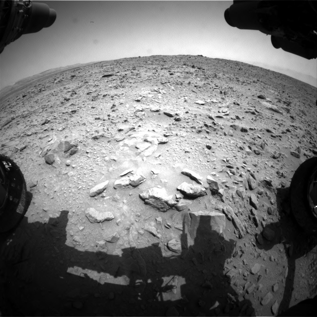 Nasa's Mars rover Curiosity acquired this image using its Front Hazard Avoidance Camera (Front Hazcam) on Sol 691, at drive 828, site number 39
