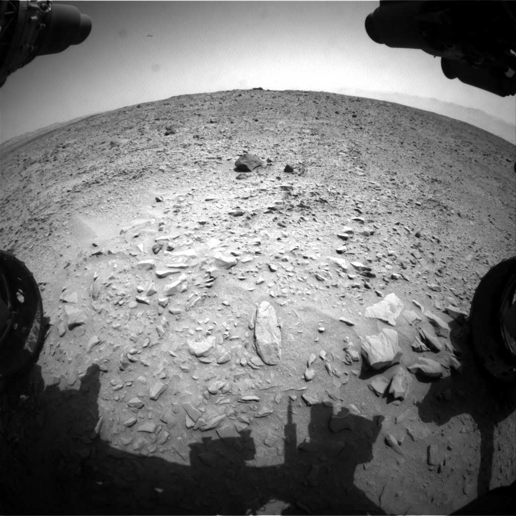 Nasa's Mars rover Curiosity acquired this image using its Front Hazard Avoidance Camera (Front Hazcam) on Sol 691, at drive 882, site number 39