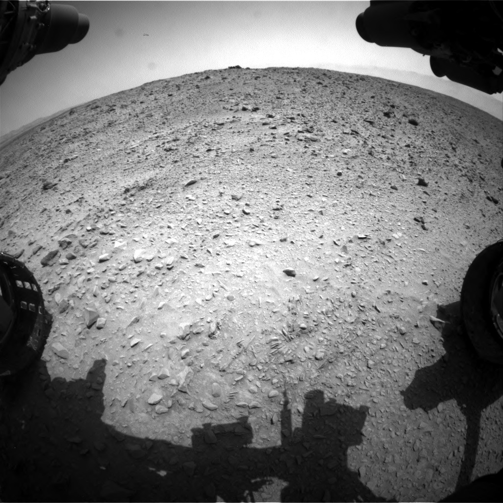 Nasa's Mars rover Curiosity acquired this image using its Front Hazard Avoidance Camera (Front Hazcam) on Sol 691, at drive 924, site number 39