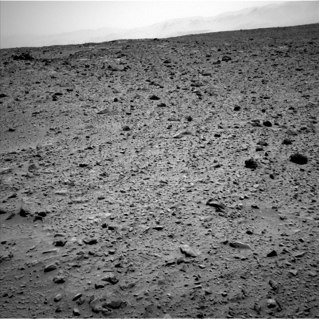 Nasa's Mars rover Curiosity acquired this image using its Left Navigation Camera on Sol 691, at drive 924, site number 39