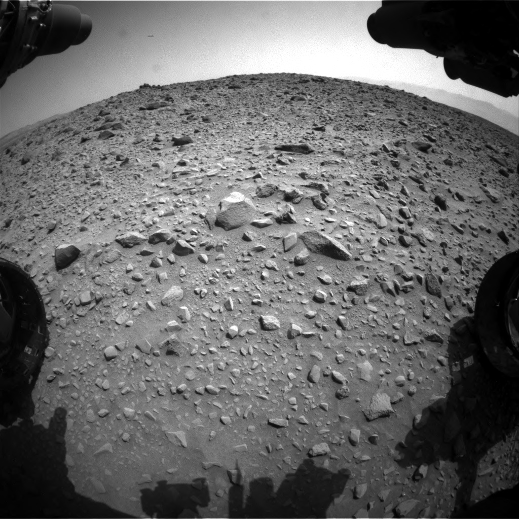 Nasa's Mars rover Curiosity acquired this image using its Front Hazard Avoidance Camera (Front Hazcam) on Sol 692, at drive 1044, site number 39