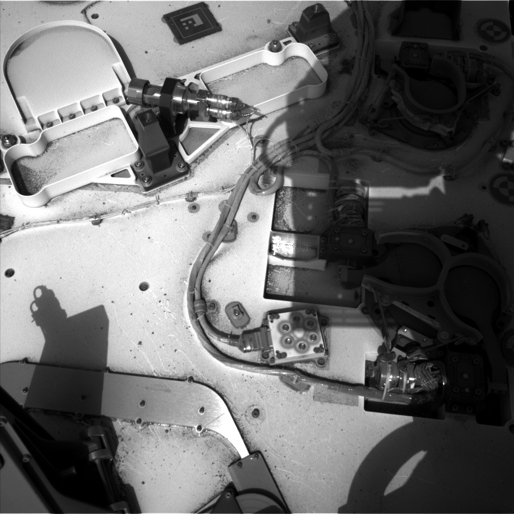 Nasa's Mars rover Curiosity acquired this image using its Left Navigation Camera on Sol 694, at drive 1176, site number 39