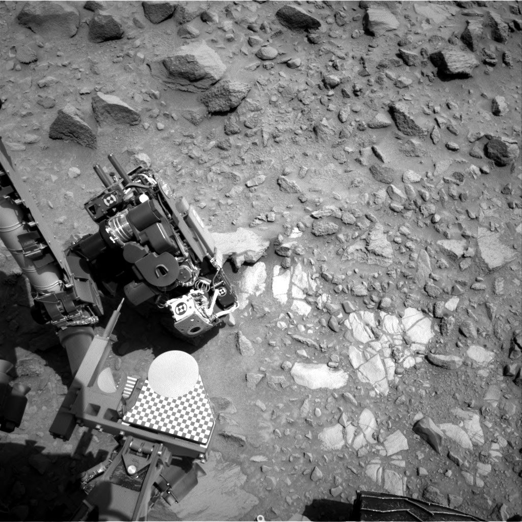 Nasa's Mars rover Curiosity acquired this image using its Right Navigation Camera on Sol 694, at drive 1176, site number 39