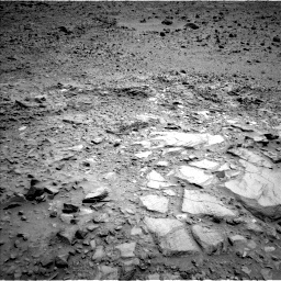 NASA's Mars rover Curiosity acquired this image using its Left Navigation Camera (Navcams) on Sol 695