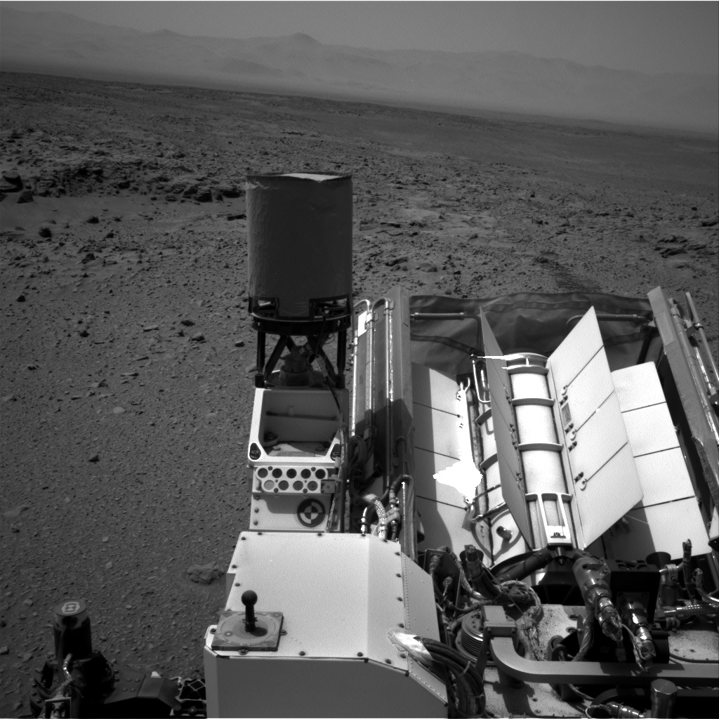 Nasa's Mars rover Curiosity acquired this image using its Right Navigation Camera on Sol 695, at drive 1396, site number 39