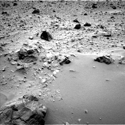Nasa's Mars rover Curiosity acquired this image using its Left Navigation Camera on Sol 696, at drive 1456, site number 39