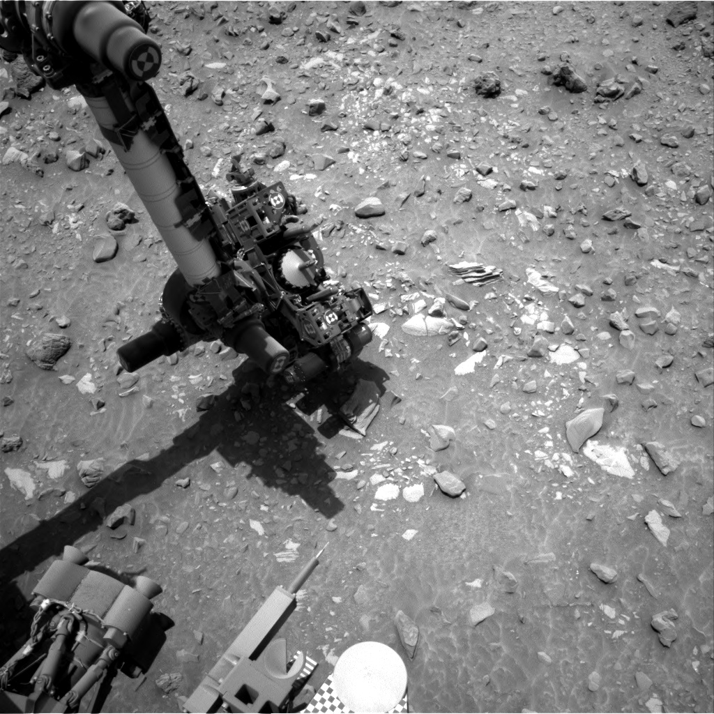 Nasa's Mars rover Curiosity acquired this image using its Right Navigation Camera on Sol 696, at drive 1396, site number 39