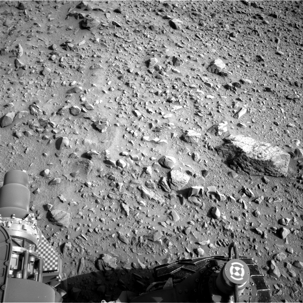 NASA's Mars rover Curiosity acquired this image using its Right Navigation Cameras (Navcams) on Sol 699