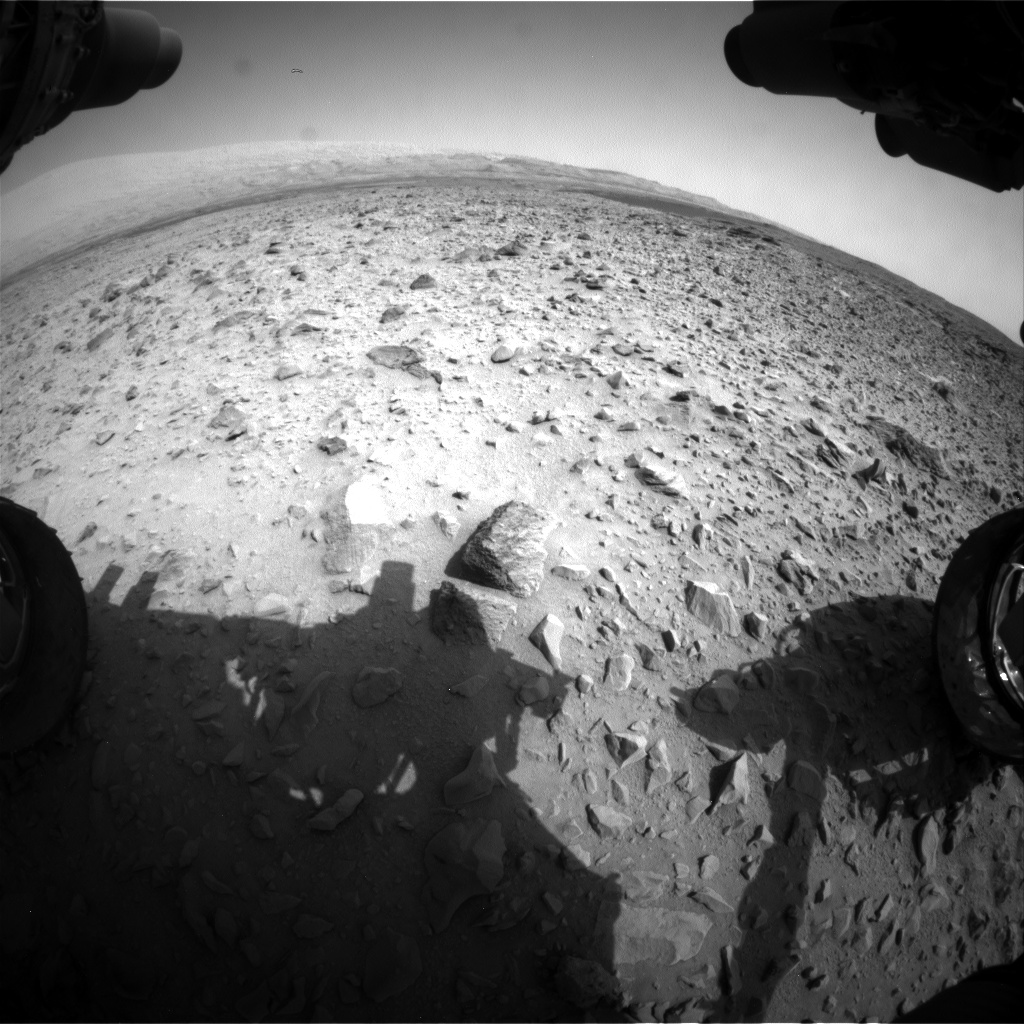 Nasa's Mars rover Curiosity acquired this image using its Front Hazard Avoidance Camera (Front Hazcam) on Sol 702, at drive 1552, site number 39