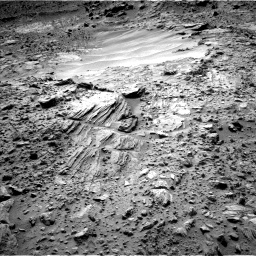 Nasa's Mars rover Curiosity acquired this image using its Left Navigation Camera on Sol 702, at drive 1660, site number 39