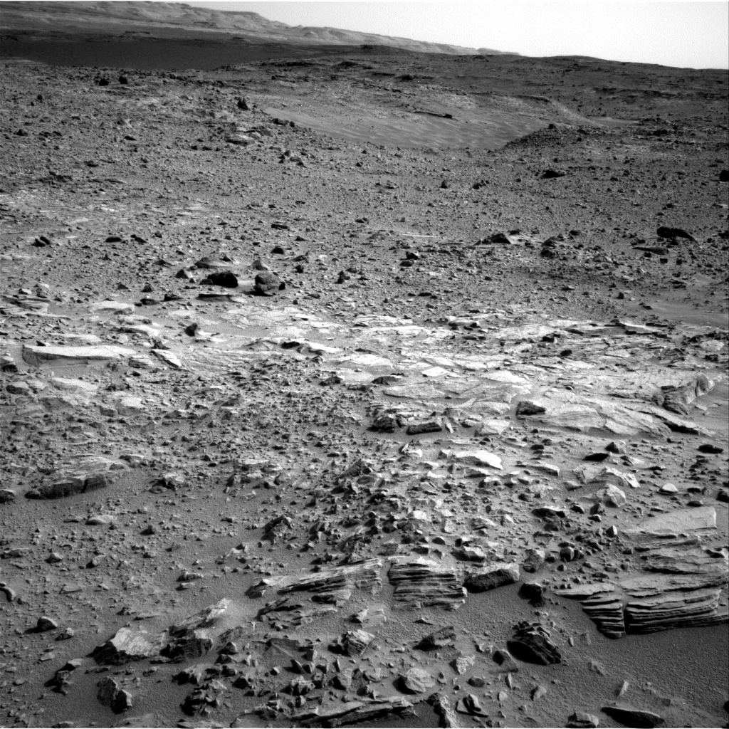 Nasa's Mars rover Curiosity acquired this image using its Right Navigation Camera on Sol 702, at drive 1666, site number 39