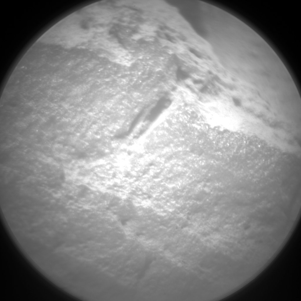 Nasa's Mars rover Curiosity acquired this image using its Chemistry & Camera (ChemCam) on Sol 703, at drive 1666, site number 39