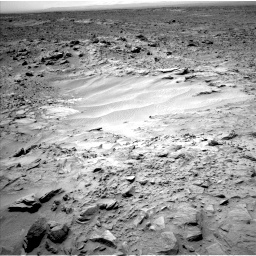 Nasa's Mars rover Curiosity acquired this image using its Left Navigation Camera on Sol 703, at drive 1702, site number 39