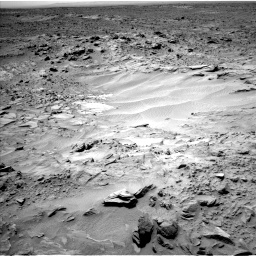 Nasa's Mars rover Curiosity acquired this image using its Left Navigation Camera on Sol 703, at drive 1708, site number 39