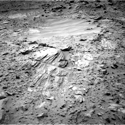 Nasa's Mars rover Curiosity acquired this image using its Right Navigation Camera on Sol 703, at drive 1666, site number 39