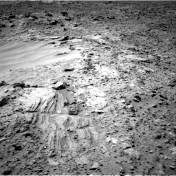 Nasa's Mars rover Curiosity acquired this image using its Right Navigation Camera on Sol 703, at drive 1684, site number 39