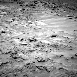 Nasa's Mars rover Curiosity acquired this image using its Right Navigation Camera on Sol 703, at drive 1720, site number 39