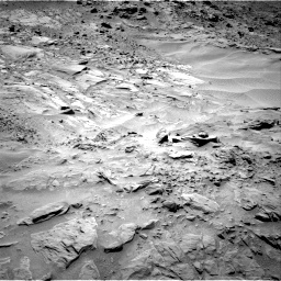 Nasa's Mars rover Curiosity acquired this image using its Right Navigation Camera on Sol 703, at drive 1726, site number 39