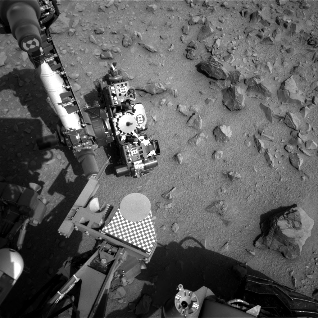Nasa's Mars rover Curiosity acquired this image using its Right Navigation Camera on Sol 704, at drive 1888, site number 39